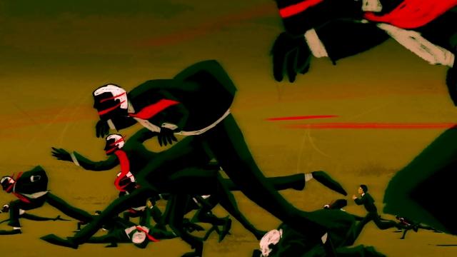 サザンオールスターズ 「闘う戦士(もの)たちへ愛を込めて」のイメージ