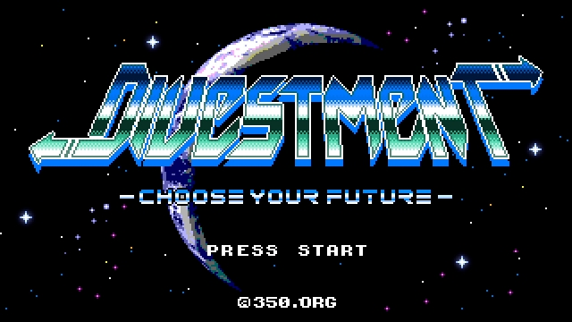 350.org「DIVESTMENT – choose your future」のイメージ
