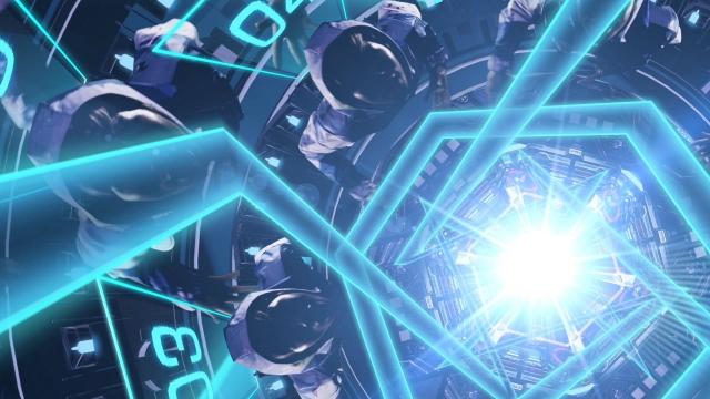 """KRADNESS「CRITICAL LINE(collaboration with KONAMI """"SDVX"""")」のイメージ"""