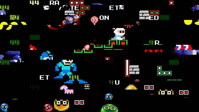 UNIQLO「THE GAME CLASSIC PIXELS」のイメージ