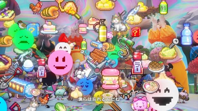 NHK Eテレ「天才てれびくんhello – エンディング 2021」のイメージ